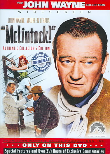 MCLINTOCK:SPECIAL COLLECTOR'S EDITION BY WAYNE,JOHN (DVD)